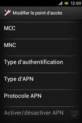 Sony C1505 Xperia E - MMS - Configuration manuelle - Étape 13