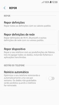 Samsung Galaxy S7 Edge - Android Oreo - Repor definições - Como repor definições de fábrica do telemóvel -  7