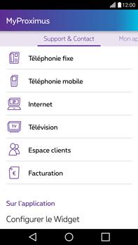 LG H815 G4 - Applications - MyProximus - Étape 22