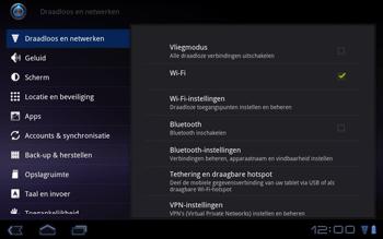 Huawei Mediapad S7-301u - Internet - Aan- of uitzetten - Stap 4