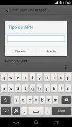 Sony Xperia Z1 - Mensajería - Configurar el equipo para mensajes multimedia - Paso 14