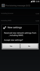 Huawei Ascend G6 - Settings - Configuration message received - Step 9