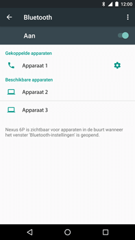 Huawei Google Nexus 6P - WiFi en Bluetooth - Bluetooth koppelen - Stap 8