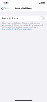 Apple iphone-x-met-ios-13-model-a1901 - Beveiliging en ouderlijk toezicht - Zoek mijn iPhone inschakelen - Stap 11