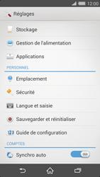 Sony Xperia Z2 - Sécuriser votre mobile - Activer le code de verrouillage - Étape 4
