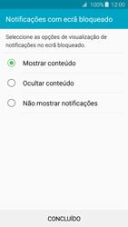 Samsung Galaxy A3 A310F 2016 - Segurança - Como ativar o código de bloqueio do ecrã -  11