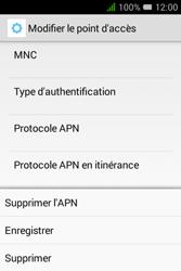 """Alcatel Pixi 3 - 3.5"""" - Internet - configuration manuelle - Étape 18"""