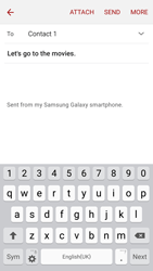 Samsung J320 Galaxy J3 (2016) - E-mail - Sending emails - Step 9