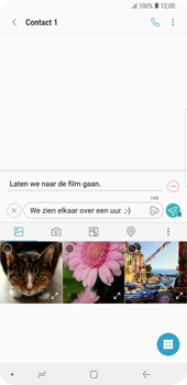 Samsung Galaxy S9 Plus - MMS - Afbeeldingen verzenden - Stap 13