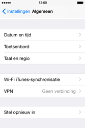 Apple iPhone 4s iOS 8 - Resetten - Fabrieksinstellingen terugzetten - Stap 4