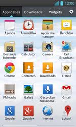 LG E460 Optimus L5 II - Internet - hoe te internetten - Stap 2