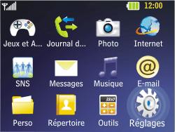 LG C320 InTouch Lady - Internet - Configuration manuelle - Étape 3