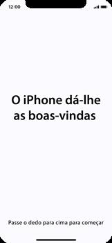 Apple iPhone X - Primeiros passos - Como ligar o telemóvel pela primeira vez -  28
