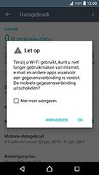 Sony Xperia XZ Premium - Internet - aan- of uitzetten - Stap 6