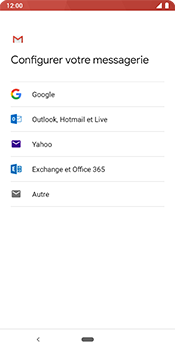 Google Pixel 3 - E-mail - 032c. Email wizard - Outlook - Étape 7