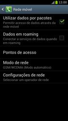Samsung Galaxy S III - Mensagens - Como configurar seu celular para mensagens multimídia (MMS) - Etapa 7
