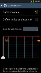 Samsung Galaxy S4 - Internet - Ver uso de datos - Paso 8
