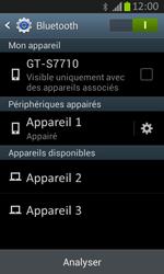 Samsung S7710 Galaxy Xcover 2 - Bluetooth - connexion Bluetooth - Étape 10