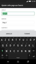 HTC Desire 816 - Internet - Navigation sur Internet - Étape 9