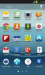 Samsung I8190 Galaxy S III Mini - Instellingen aanpassen - Fabrieksinstellingen terugzetten - Stap 3