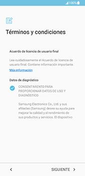 Samsung Galaxy S8 - Primeros pasos - Activar el equipo - Paso 7