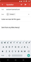 Wiko Harry 2 - E-mail - e-mail versturen - Stap 7