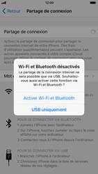 Apple iPhone 7 iOS 11 - Internet et connexion - Partager votre connexion en Wi-Fi - Étape 8