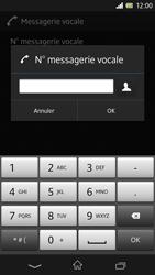 Sony C6603 Xperia Z - Messagerie vocale - Configuration manuelle - Étape 8