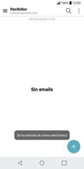 LG Q6 - E-mail - Escribir y enviar un correo electrónico - Paso 19