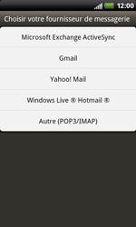 HTC S510b Rhyme - E-mail - Configuration manuelle - Étape 5