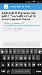 Alcatel Pixi 3 - Email - Configurar a conta de Email -  10
