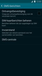 Samsung G900F Galaxy S5 - SMS - Handmatig instellen - Stap 9