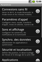 Samsung I7500 Galaxy - Messagerie vocale - Configuration manuelle - Étape 4