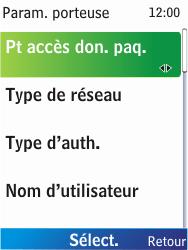 Nokia X2-00 - Internet - Configuration manuelle - Étape 11