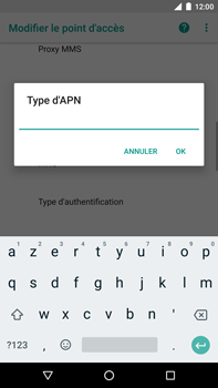 Huawei Nexus 6P - Android Oreo - MMS - Configuration manuelle - Étape 12