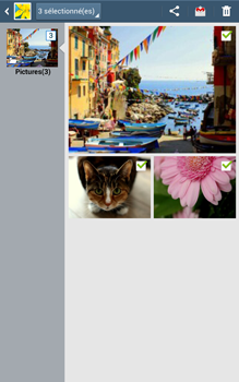 Samsung Galaxy Tab 3 8 4G - Photos, vidéos, musique - Envoyer une photo via Bluetooth - Étape 9