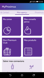 HTC Desire 626 - Applications - MyProximus - Étape 13