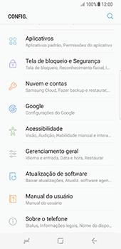 Samsung Galaxy S8 - Funções básicas - Como atualizar o software do seu aparelho - Etapa 4