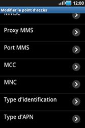 Samsung S5830 Galaxy Ace - Mms - Configuration manuelle - Étape 10