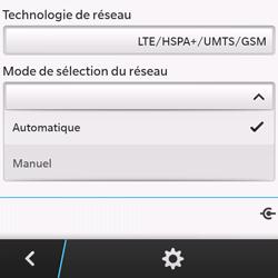 BlackBerry Q10 - Réseau - utilisation à l'étranger - Étape 10