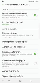 Samsung Galaxy Note 8 - Chamadas - Como bloquear chamadas de um número -  6