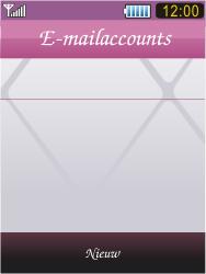 Samsung S7070 Diva - E-mail - Handmatig instellen - Stap 15
