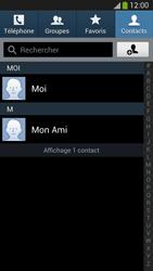 Samsung Galaxy S4 - Contact, Appels, SMS/MMS - Utiliser la visio - Étape 4