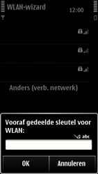 Nokia 500 - Wifi - handmatig instellen - Stap 6