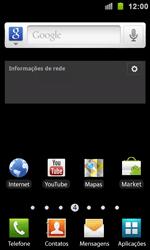 Samsung I9100 Galaxy S II - Funções básicas - Explicação dos ícones - Etapa 1