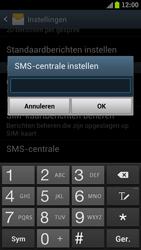 Samsung I9305 Galaxy S III LTE - SMS - Handmatig instellen - Stap 5