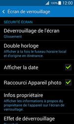 Samsung Galaxy Ace 4 - Sécuriser votre mobile - Activer le code de verrouillage - Étape 5