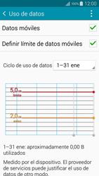 Samsung A500FU Galaxy A5 - Internet - Ver uso de datos - Paso 10