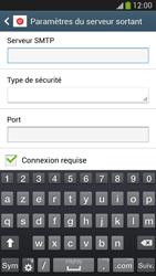 Samsung I9295 Galaxy S IV Active - E-mail - Configuration manuelle - Étape 13