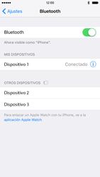 Apple iPhone 6s iOS 9 - Bluetooth - Conectar dispositivos a través de Bluetooth - Paso 6